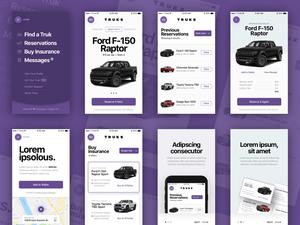 Truks UI Kit Sketch Resource