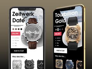 Luxury Watch Views Sketch Resource