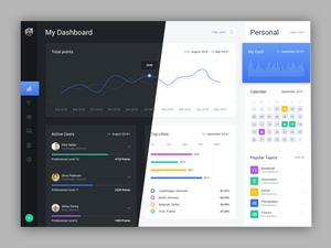 Web Dashboard Sketch Resource