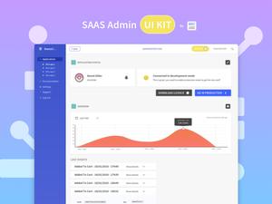 Web Admin UI Kit Sketch Resource