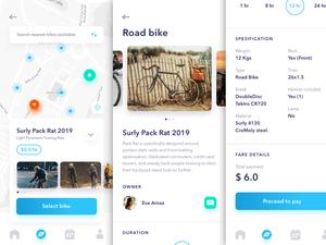 Bicycle Sharing App Sketch Resource
