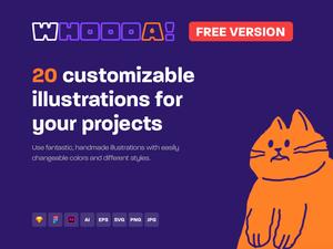20 Customizable Illustrations Sketch Resource
