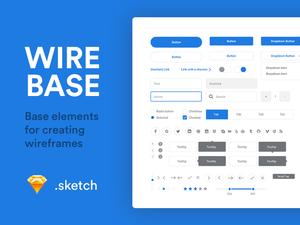 Wirebase – Wireframe Elements