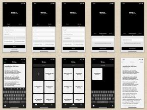 Write UI Kit Sketch Resource