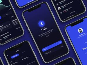 Xoin Wallet App Sketch Resource