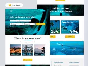 Flight Searcher Website Template