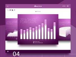 Retail Analytics Software Concept