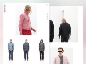 Fashion Ecommerce Layout