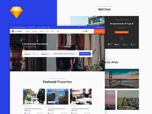 Real Estate Website Template – casaRoyal