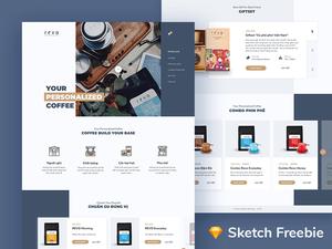 Coffee Shop Website Concept