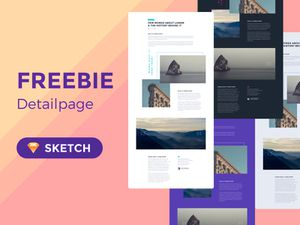 Detail Page Layout Template