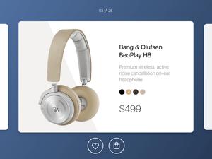 E-Commerce Shop Concept – Single Item