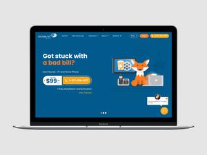 Telecommunications Provider Website Redesign
