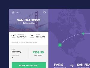 Flight UI Design