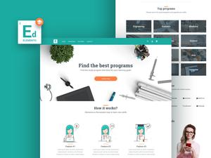 Education Website Template – Free Sample