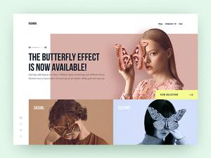 Fashion Experiment Website – Sketch & Principle
