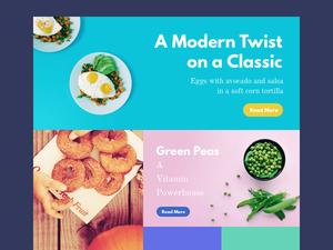 Food Magazine Template