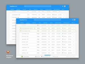 Payment System Admin Template