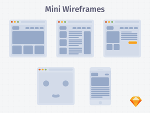 Mini Light Wireframes