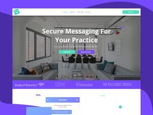 Prac Chat Landing Page