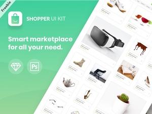 Shopping Website Kit – Shopper
