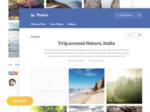 Facebook Photos Redesign