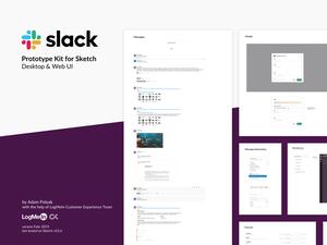 Slack Prototype Kit for Sketch