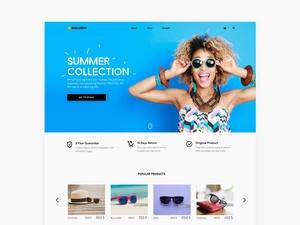 SunGlasser Website Template
