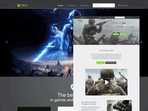Xbox Website Redesign